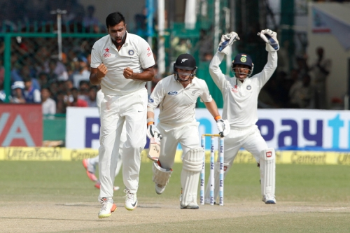 Cricket- India and New Zealand 1st Test Day 4